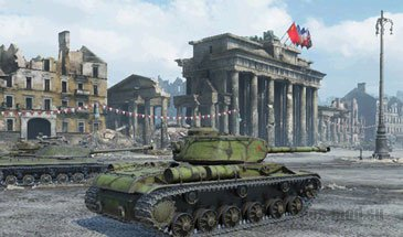 "Ангар ""День победы"" для World of Tanks 0.9.16"